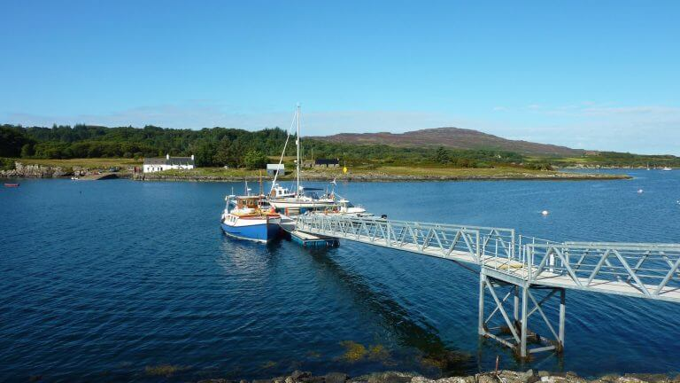 Ulva Ferry Pontoon Ulva Ferry Community Transport