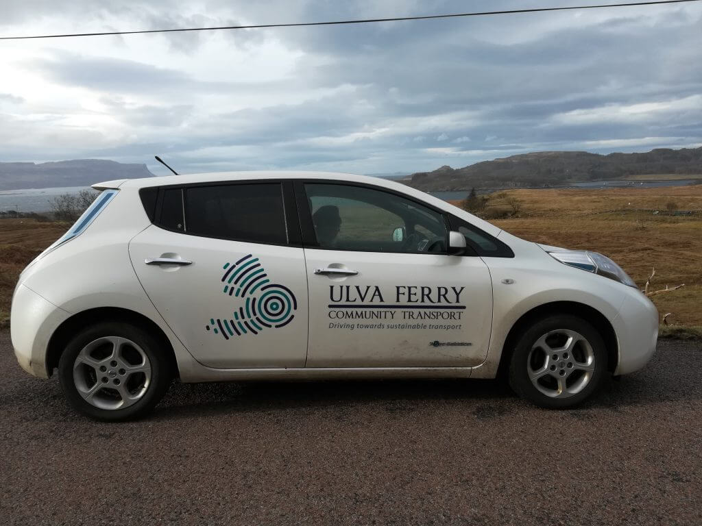 Ulva Ferry Community Transport Car